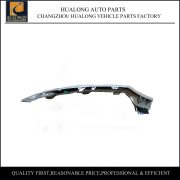 Mercedes Benz C-Class W205 Front Bumper Lower Chrome Trim Lip Set